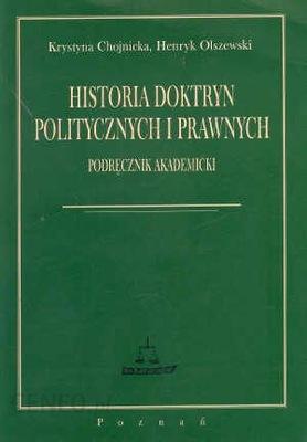 Historia doktryn polityczny i prawnych