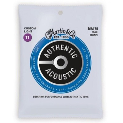 Str.Martin MA175 do gitary akustycznej 11-52 80/20