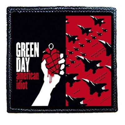 Naszywka GREEN DAY 8 X 8 cm Dużo Wzorów!