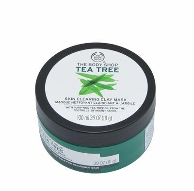 THE BODY SHOP OCZYSZCZAJĄCA MASKA GLINKA TEA TREE