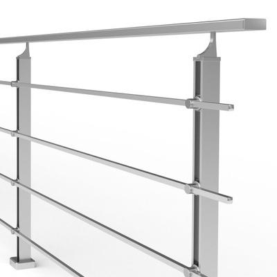 Балюстрада алюминиевая 3 мб, современный Узор + CE