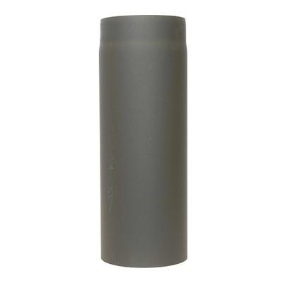 Potrubie pre pec na komín kotla 1 meter čierne 2mm fi 160