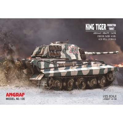 Angraf 106 -   Tiger Production Turret 1 :25