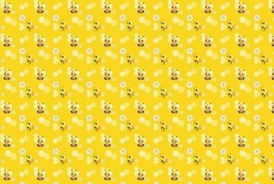 Dyha 368 cm 248 cm 8 ks Malé nástenné včely