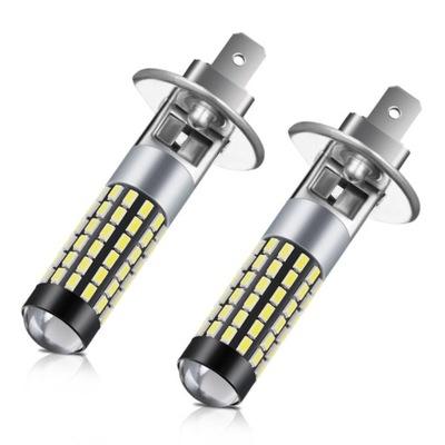 ЛАМПОЧКИ LED (СВЕТОДИОД ) H1 3014SMD 12-24V 780LM 2 ШТУКИ.