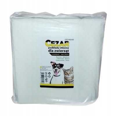 CEZAR absorpčné hygienické podložky rohože 60x60 50