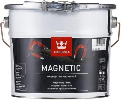 Farba magnetyczna do ścian Tikkurila Magnetic 3L
