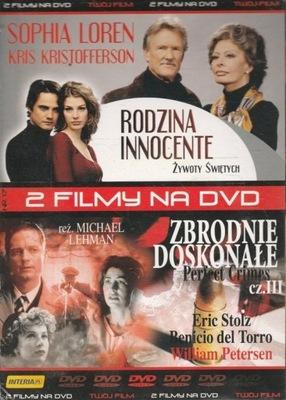 Rodzina Innocente + Zbrodnie Doskonałe cz. III DVD