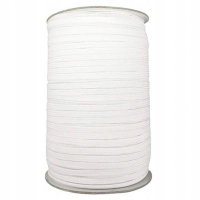 резинка одежды 5 мм белая 10mb