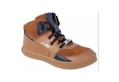 Buty BARTEK trzewiki chłopięce brązowy 31