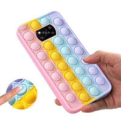 Etui BUBBLE POP IT PUSH CASE do Poco X3 Pro NFC