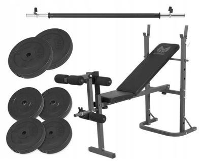 Bench press 3 v 1, zaťaženie 52 kg