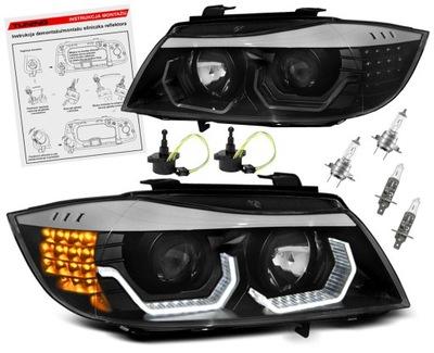 BMW E90 08-12 LCI ФАРЫ ФАРЫ LED (СВЕТОДИОД ) RINGI 3D H7
