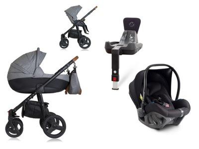 Dynamic Baby SCANDI wózek 4w1 Avionaut PIXEL BAZA