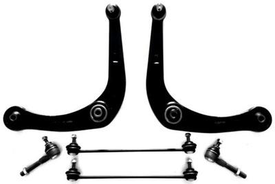 Zestaw Komplet Wahaczy Peugeot 206 Przód SEKURECO
