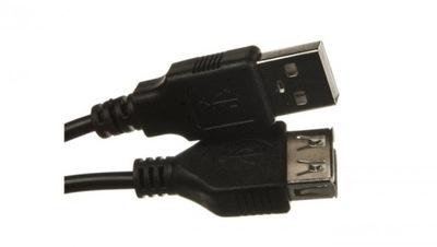 Kabel przedłużający USB 2.0 Typ USB A/USB A, M/Ż