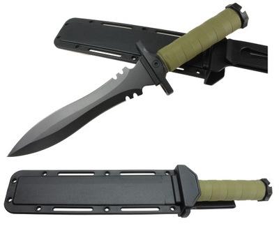 Nóż WOJSKOWY taktyczny SZTYLET COLUMBIA ABS ND97
