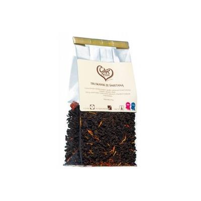 Herbata czarna Truskawki ze śmietaną 50 g