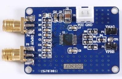 Wzmacniacz szerokopasmowy AD8302 2,7 GHZ RF/IF