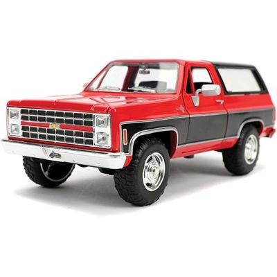 JADA 1980 CHEVROLETK5 Blazer Red/Black 1:24