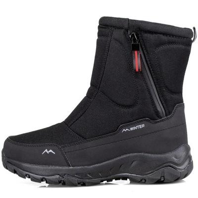Śniegowce męskie zima obuwie ocieplane Buty Zimowe