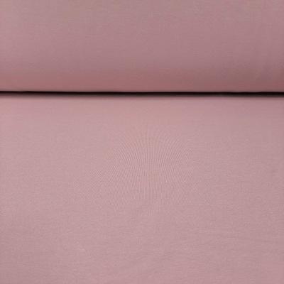 Dresówka pętelka różowa - pudrowy brudny róż