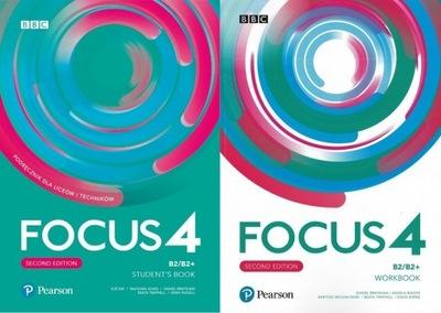 Focus 4 KOMPLET + CD + eBook + eWorkbook 2020