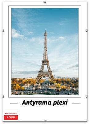 ANTYRAMA PLEXI 50x100, 100x50 cm, RAMKA, FV!