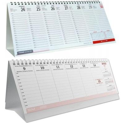 Kalendarz biurkowy biurowy ZESTAW 2021 + 2022