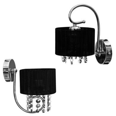 Sconce prívesok lampa na čierne steny očarujúce