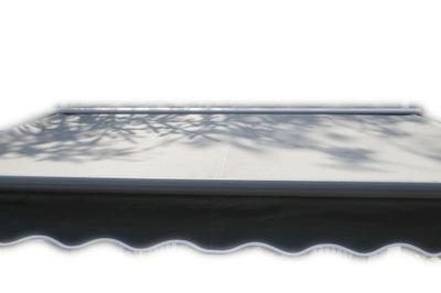 маркиза терраса Антрацит 400x300 серая PREM