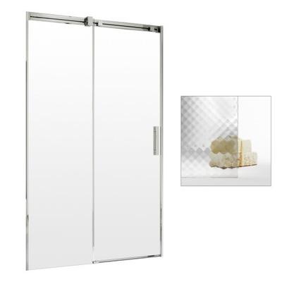 Drzwi prysznicowe wnękowe szklane 140 L MasterSoft