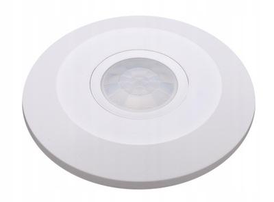 ДАТЧИК движения потолок ULTRA плоский LED PIR 360°