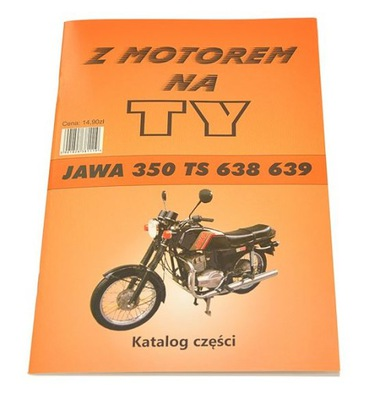 КНИЖКА ОБСЛУЖИВАНИЯ KATALOG ЗАПЧАСТИ JAWA 350 TS 638