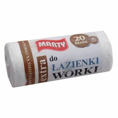 Worki na śmieci HDPE Łazienkowe 20 litrów