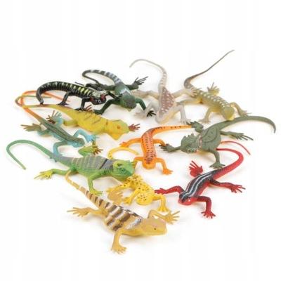 Figurki Mini Zwierzatka Jaszczurki 12 Szt Zabawki 7653461722 Oficjalne Archiwum Allegro