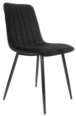 Мягкий стул Lapo Velvet black