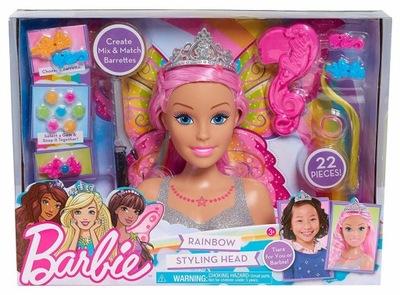Dreamtopia Barbie hlava pre styling a doplnky