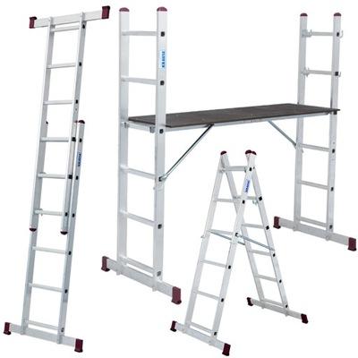 Рабочая платформа алюминиевая 2x6 Краузе CORDA 5in1