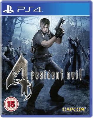 RESIDENT EVIL 4 NOWA PS4