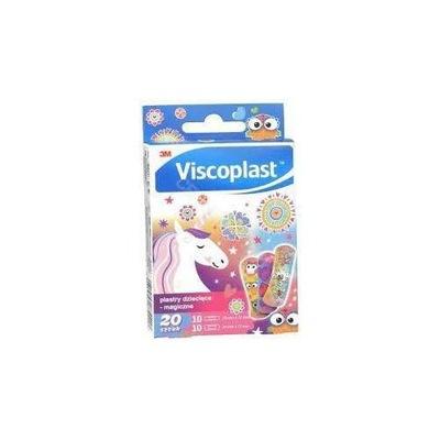 VISCOPLAST Plastry dla dzieci - magiczne, 20 sztuk