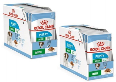 Royal Canin Mini Puppy Junior Puppies 24x85g