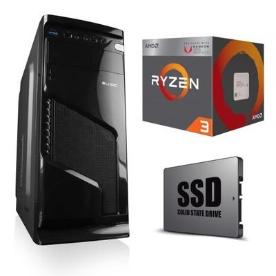 KOMPUTER DO GIER 12 Rdzeni! 120SSD Radeon 16G DDR4