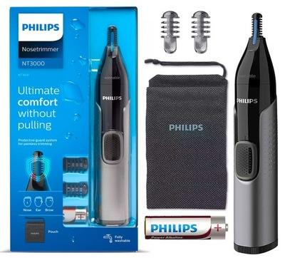 Philips TRYMER NT3650 do nosa brwi uszu + ETUI