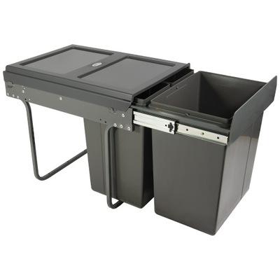 Segregator na śmieci PRACTI ECO 400mm 1x20L+2x10L