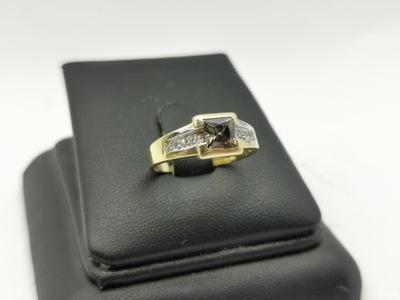 Pierścionek złoty p585 3,41g