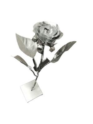 Róża ze stali, wieczna róża z metalu, producent