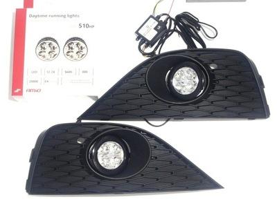 Lampy światła dzienne dziennej Seat Ibiza 6J 08-12