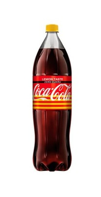 Coca Кола Lemon Ноль Сахара 1 ,75l.