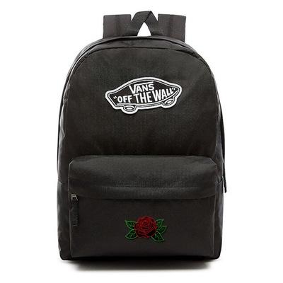 Plecak VANS Realm VN0A3UI6BLK - Custom Dark Rose